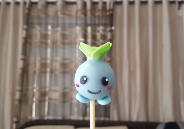 An Oddish cake pop appeared!
