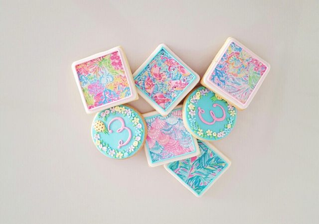 Lilly P Sugar Cookies